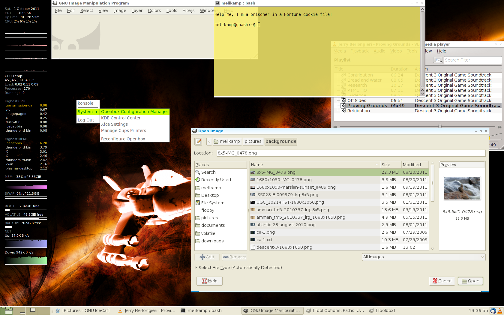 Xfce With Openbox